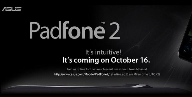 ASUS PadFone 2 presentación