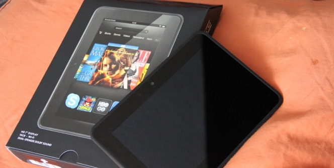 Kindle Fire HD unboxing