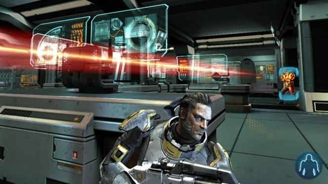 Mass Effect Infiltrator iPad