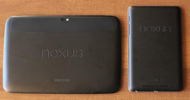 Nexus 10 trasera