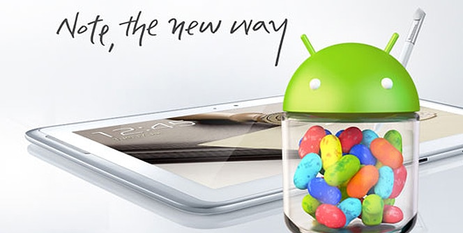 Samsung Galaxy Note 10.1 Jelly Bean