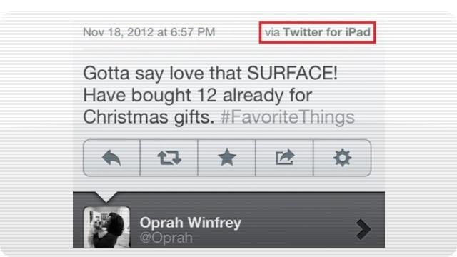 Oprah Surface