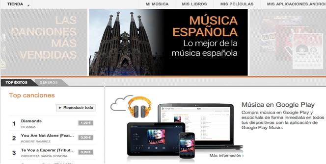 Google Play Music España