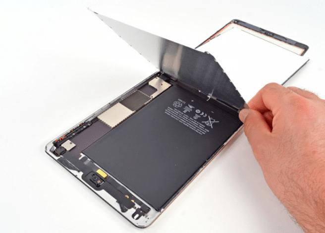 iPad Mini desmontado