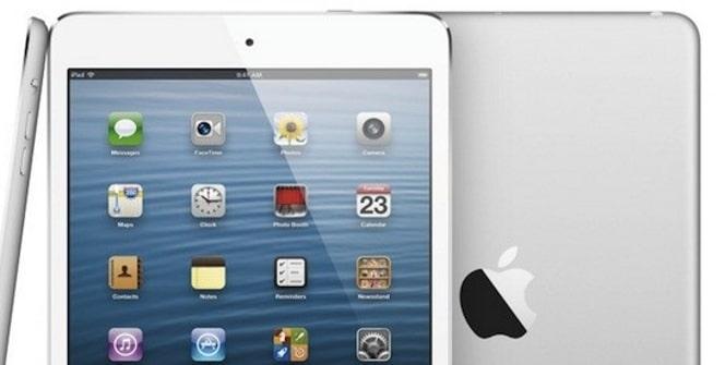 iPad mini pantalla