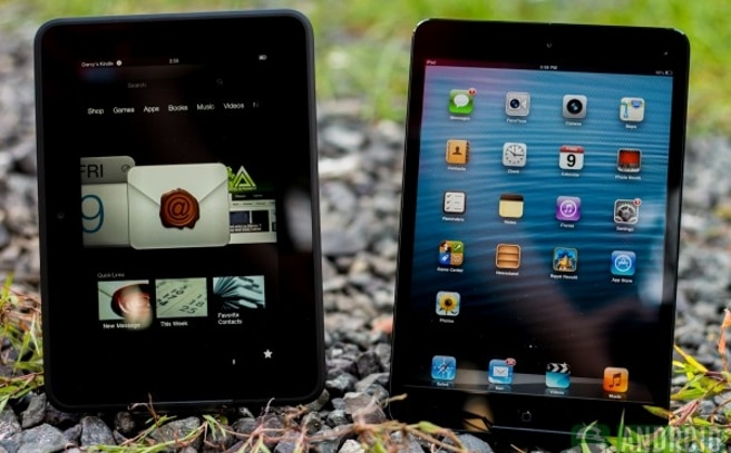 Kindle Fire HD iPad mini