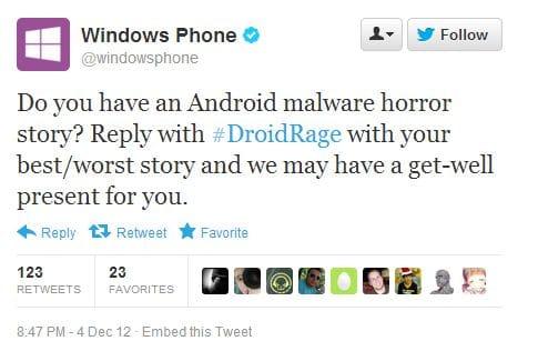 Microsoft tweet