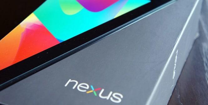 Nexus 7 caja