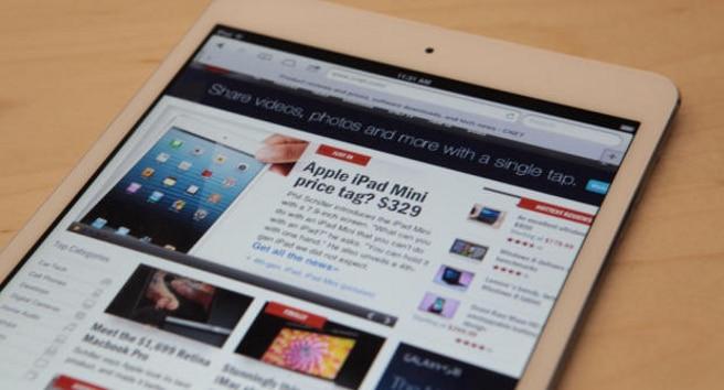 iPad mini ventas