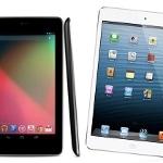 iPad mini Nexus 7 vídeo
