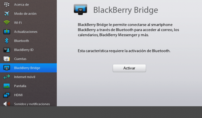 playbook blackberry bridge