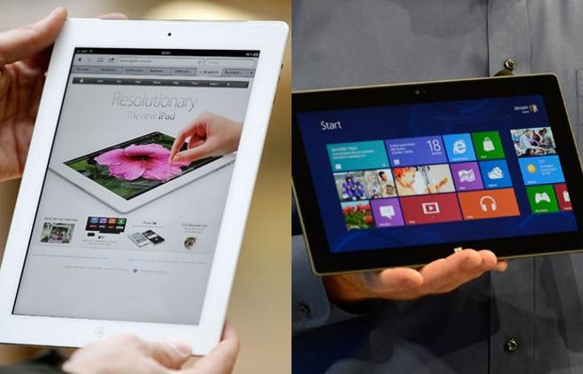 iPad y Surface ventas