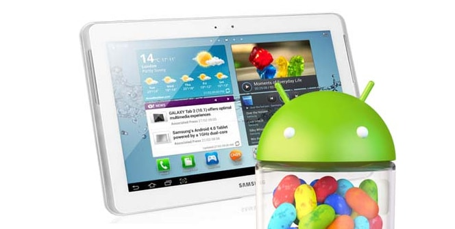 Samsung Galaxy Tab 2 10.1 Jelly Bean