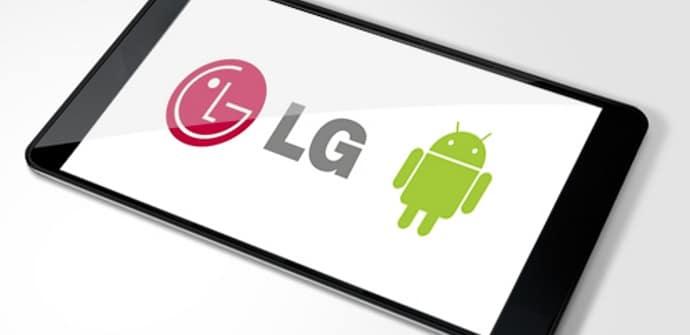 LG tablet 7 pulgadas