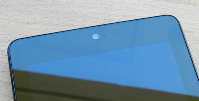Cámara frontal Nexus 7