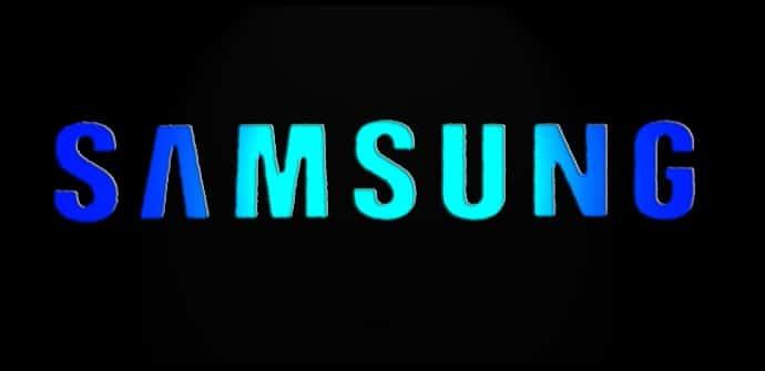 Samsung Logo negro