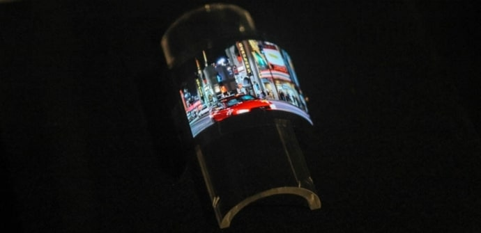 Sharp pantallas OLED flexibles