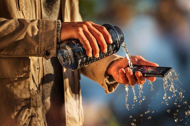 Sony Xperia Z resistente al agua