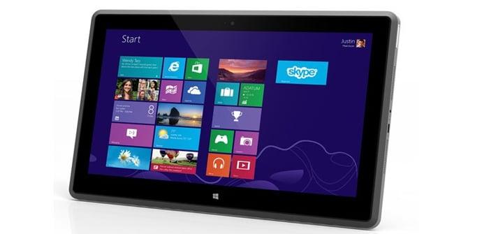 Vizio Windows 8 tablet