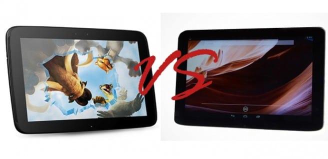 Vizio 10.1 Tablet VS Nexus 10
