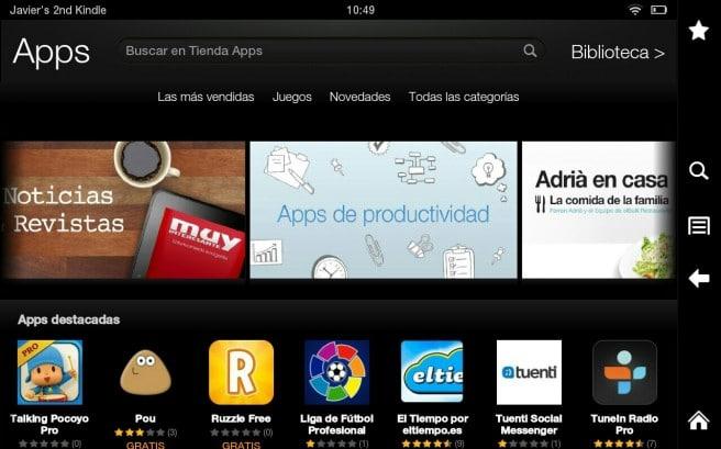 Aplicaciones Amazon