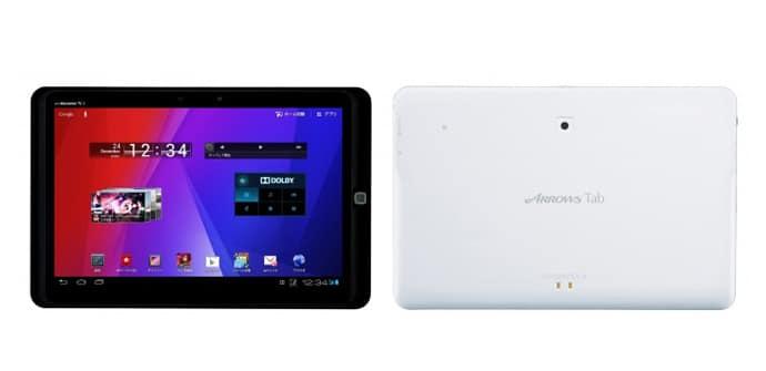 Fujitsu Arrows Tab WiFi AR70B