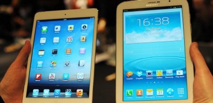 Galaxy Note 8.0 vs iPad mini