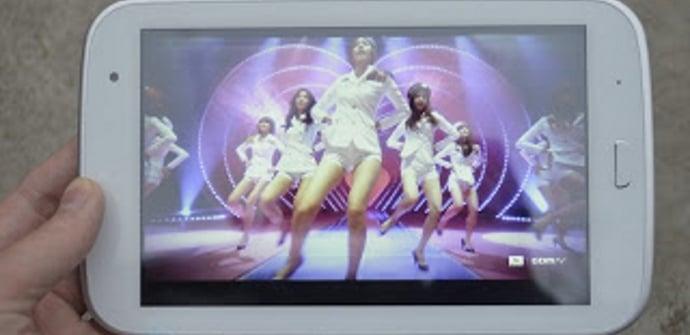 Hyunday T7 pantalla
