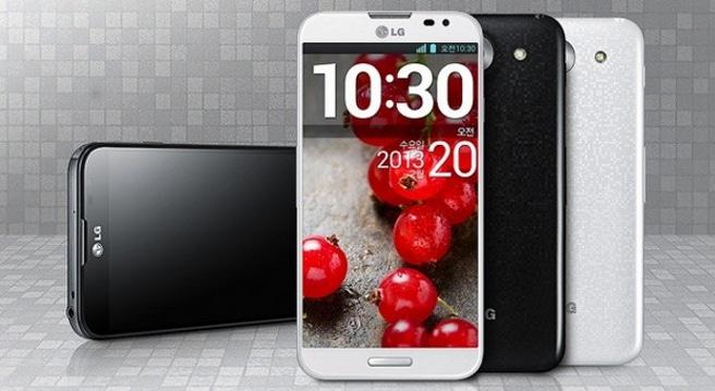 LG Optimus Pro blanco y negro