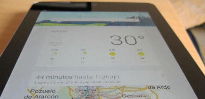 Nexus 7 con Google Now