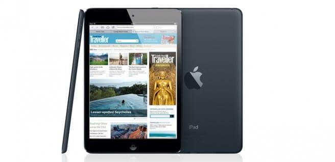 iPad 5 como mini