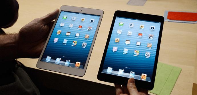 iPad mini panel retina