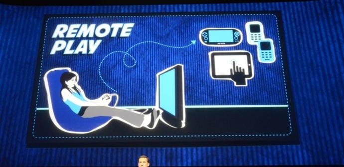 PS4 juego remoto