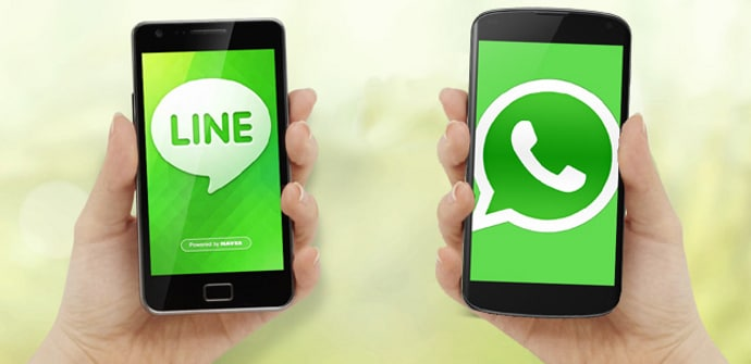 LINE WhatsApp Android