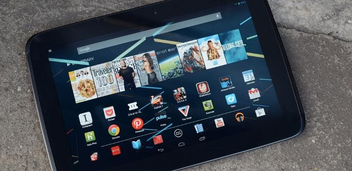 Nexus 10 anuncio