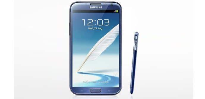 Samsung Galaxy Note II Topaz Azul