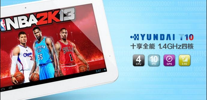 hyundai Tablet 10