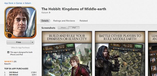 iTunes Compras in-app