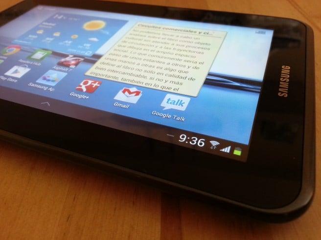 Galaxy Tab 2 7.0 frontal