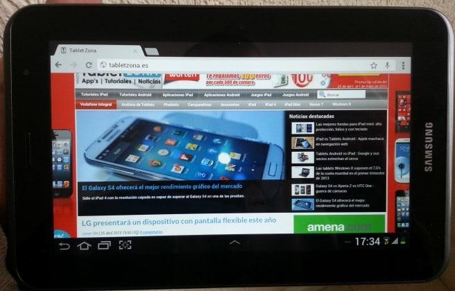 Galaxy Tab 2 7.0 TabletZona