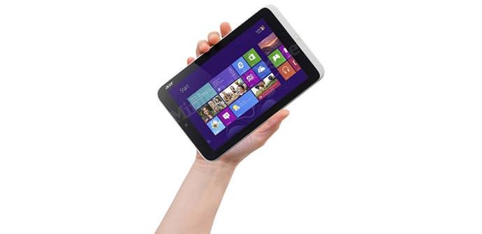 Acer Iconia W3 en mano