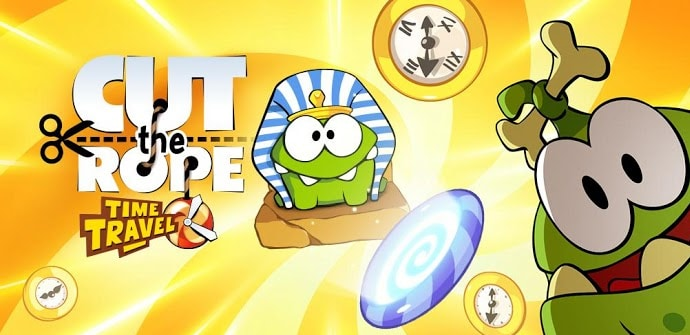 Cut the rope time travel iOS Android
