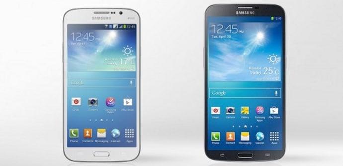 Galaxy Note 2 vs Galaxy Mega 5.8