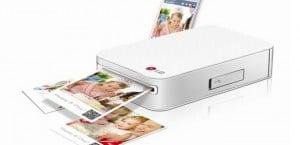 LG lanza una impresora portátil para iOS y Android