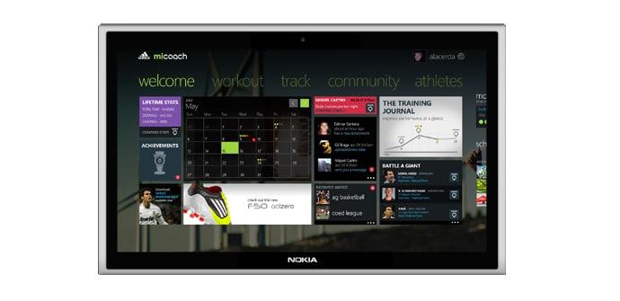 Nokia Tablet Adidas micoach