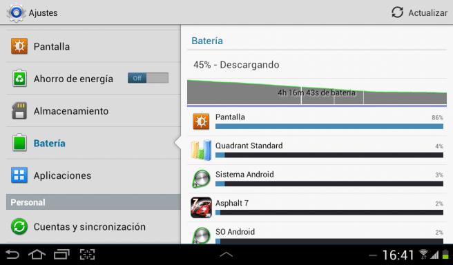 Galaxy Tab 2 7.0 bateria