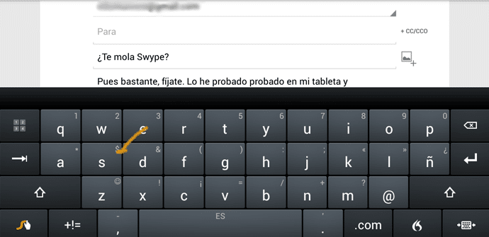 Swype para Android
