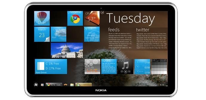 Tableta de Nokia con windos 8