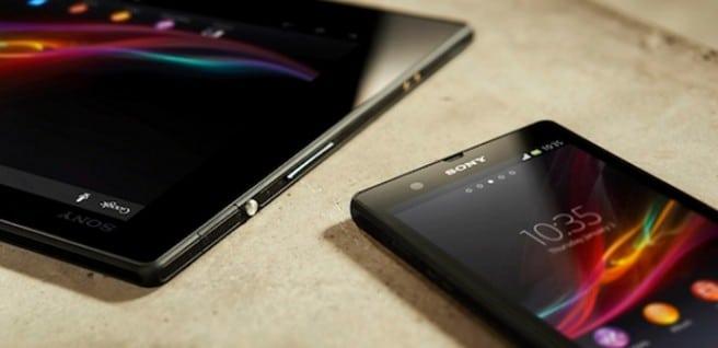 Xperia Z y Sony tablet