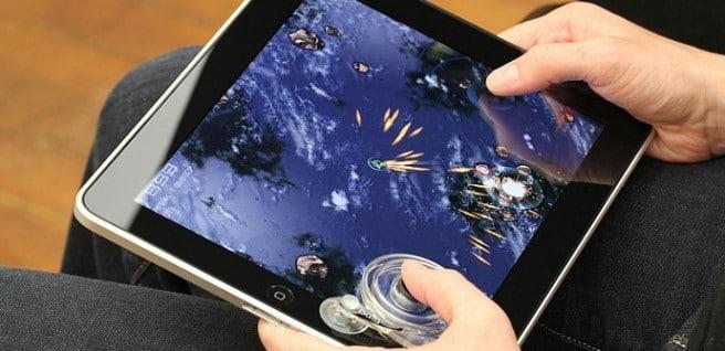 mando juegos iPad